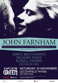 John Farnham Headlines A Day On The Green