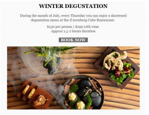 d'Aarrenberg Winter Degustation